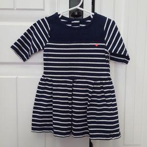 Carter's Navy & White Dress